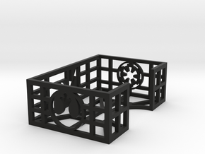 Mini Card Tray in Black Natural Versatile Plastic