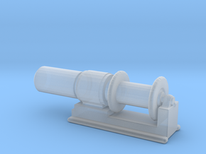 1/96 Scale 36 Inch Electric Winch in Smooth Fine Detail Plastic
