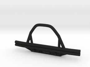 Front Bumper For SCX10 II Proline Hilux in Black Natural Versatile Plastic