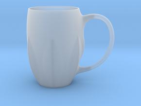 Leaves Mug in Smooth Fine Detail Plastic