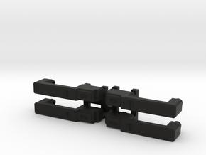 4 x Door Handles for TRX4 D110 or other in Black Natural Versatile Plastic