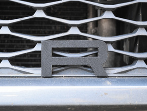 Cupra Lower Grill 'R' in White Natural Versatile Plastic