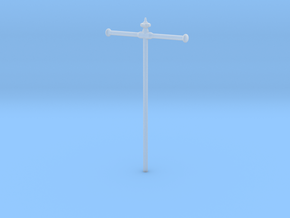 Flags pole for 35mm x 55mm flag in Smooth Fine Detail Plastic