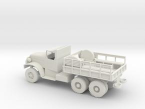 1/72 Scale White 6-ton 6x6 Cargo Truck in White Natural Versatile Plastic