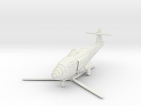 (1:144) Focke Achgelis Fa.328 in White Natural Versatile Plastic