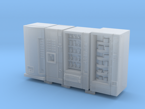 1:72 Vending Machines in Smooth Fine Detail Plastic