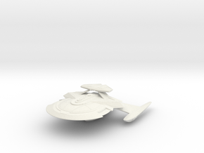 Kongo Class Cruiser (with Weapon Pod) in White Natural Versatile Plastic