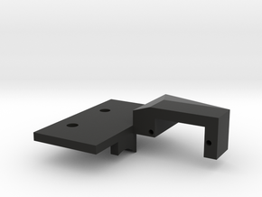 One Ten Prints TRX4 2 Speed Shift Servo Mount in Black Natural Versatile Plastic