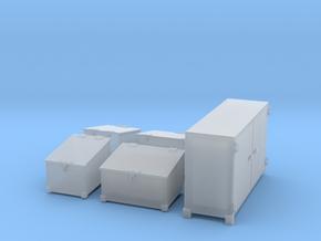 1/40 DKM Schnellboot Midship Deck Ammo Boxes Set in Smooth Fine Detail Plastic