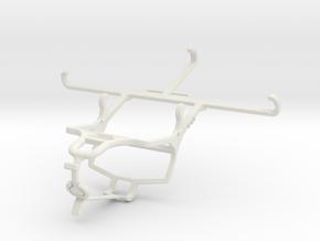 Controller mount for PS4 & Huawei nova 5i Pro - Fr in White Natural Versatile Plastic