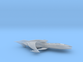 ISA_gunboat_6inch in Smooth Fine Detail Plastic