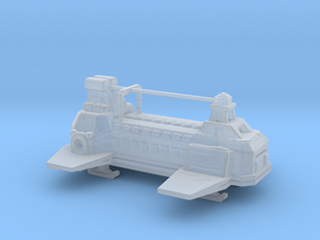 Blake`s 7 Civil Administration ship London in Smooth Fine Detail Plastic