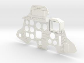SUKHOI SU27 (CARF MODELS) COCKPIT (K) in White Processed Versatile Plastic