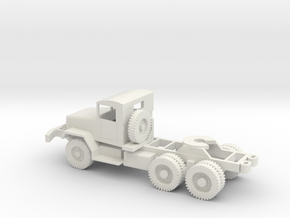 1/72 Scale M48 Tractor in White Natural Versatile Plastic