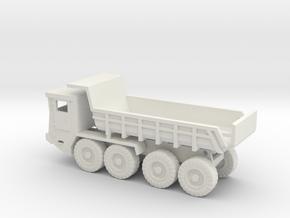 1/144 Faun L910 Kipper Dumper in White Natural Versatile Plastic