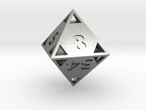 "Fibonacci ""Doubling"" Octahedron in Natural Silver"