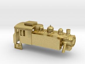 USA Tank - Z - 1:220 in Natural Brass