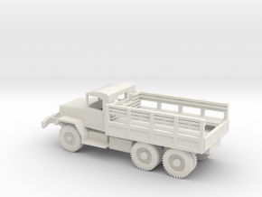 1/72 Scale M34 Troop Truck in White Natural Versatile Plastic