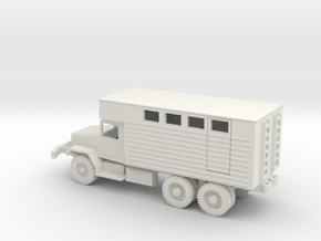 1/72 Scale M292 Van in White Natural Versatile Plastic