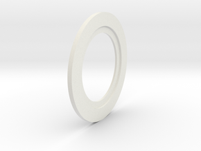 Thinner Washer in White Natural Versatile Plastic