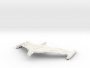 Romulan 23nd Century WarWing in White Natural Versatile Plastic
