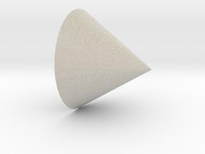 cone in Natural Sandstone
