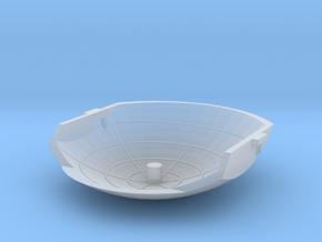 Gyrotron Radar in Smooth Fine Detail Plastic