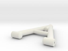 Lenker Oben TW in White Natural Versatile Plastic
