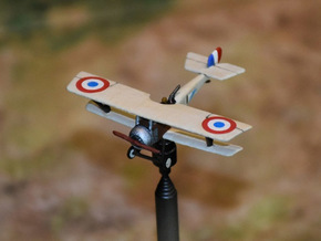 Nieuport 12bis in White Natural Versatile Plastic: 1:144