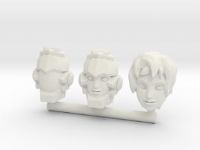 Verity Carlo Faceplate - Titans Return in White Natural Versatile Plastic