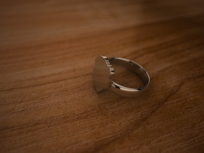 Pikabu Ring Silver 6.5size in Fine Detail Polished Silver