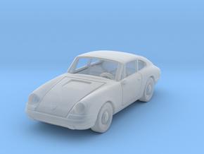 Porsche 911 S 1963 1:87 HO in Smooth Fine Detail Plastic
