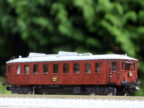 N scale Scandia Railmotor, DSB MBF, OMB MH 6 +more in Smooth Fine Detail Plastic