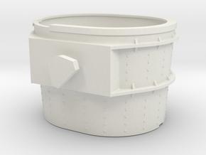 Bethlehem Steel Mill Ladle in White Natural Versatile Plastic: 1:87 - HO