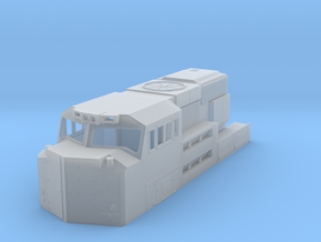 SD70ACC Conversion Cab in Smoothest Fine Detail Plastic