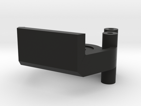 Mounting for the P51D in Black Natural Versatile Plastic