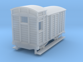 o-re-148fs-eskdale-brake-van in Smooth Fine Detail Plastic