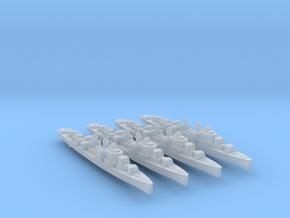 4pk sprue USS Allen M. Sumner 1944 1:3000 WW2 in Smoothest Fine Detail Plastic
