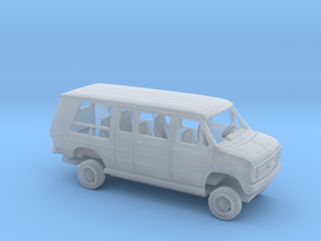 1/87 1978 Chevrolet G Van Conversion Kit in Smooth Fine Detail Plastic