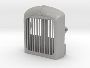 Radiator-fixed-shutter-B61 in Aluminum