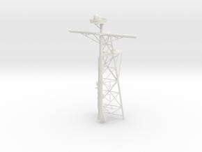 1/144 Tico Mast, Main Tin JIn in White Natural Versatile Plastic