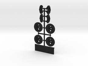 MC409SP-Disk Brakes and Calipers in Black Natural Versatile Plastic