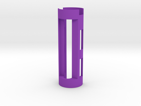 """Prizm Proffie Saberforge 28/1.1"""" RB 18650 Chassis in Purple Processed Versatile Plastic"""