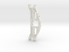 RC10 Worlds Front Suspension Arms (Pair) in White Natural Versatile Plastic