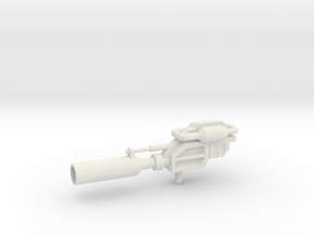 Prowlimus Gun in White Natural Versatile Plastic