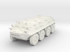 BTR 60 PA (early) 1/87 in White Natural Versatile Plastic