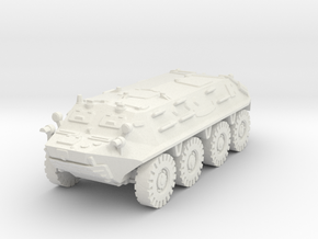 BTR 60 PA (early) 1/76 in White Natural Versatile Plastic