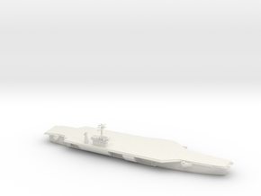 1/3000 Scale USS John F Kennedy CV-67 in White Natural Versatile Plastic
