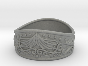 Knight bracelet in Gray PA12: Small