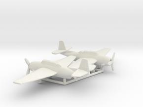 Grumman TBF Avenger / General Motors TBM in White Natural Versatile Plastic: 1:100